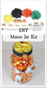 Decorating Mason Jars For Halloween by Halloween Diy Mason Jar Kit Halloween Teacher Gift Mason Jar