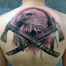 70 tomahawk tattoo designs for men american indian axe ideas