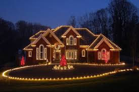 red and white alternating christmas lights eastside holiday lights designs