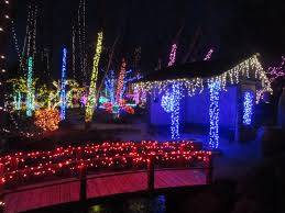 What Time Does The Botanical Gardens Close by Holiday Light Show Rotary Botanical Gardens