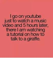 Me Me Me Video - i go on youtube just to watch a music video and 5 hours later