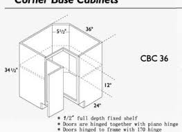 Dimensions Of Kitchen Cabinets by Brilliant Kitchen Corner Cabinets Dimensions N And Decor