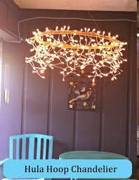 Hoop Chandelier 9 Amazing Hula Hoop Chandelier Ideas For Your Home Diy Home