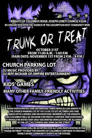 4th annual trunk or treat on halloween roselle park news