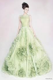 green wedding dress beautiful green colored wedding dresses cherry