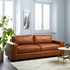 west elm leather sofa reviews new west elm leather couch and lovely wood and leather sofa mid