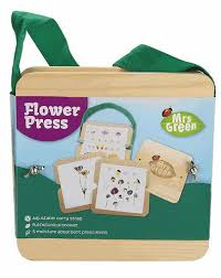 flower press flower press large by mrs green craft4kids australia