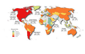 Where Is Central America On The World Map by Canadian Mining Assets Natural Resources Canada