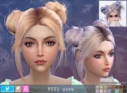 sims 4 hair r001 gaze hair pay at newsea sims 4 sims 4 updates