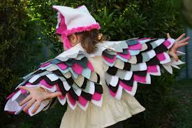 owl costume wings
