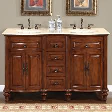 60 Inch Bathroom Vanity Bathroom 60 Inch Marilla Double Sink Bathroom Vanities With 3