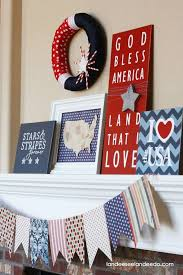 top 18 easy july 4th holiday mantel designs u2013 unique patriotic