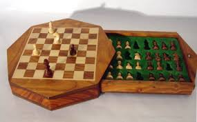 Buy Chess Set Magnetic Octagonal Contour Chess Set Magnetic Carved Chess Pieces