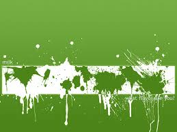 Green Paint Paint Spray Blot Texture Background Abstraction Photo