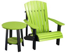 Lime Green Patio Furniture by Deck Chairs Amish Merchant