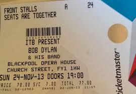 bob dylan 24th nov 2013 blackpool opera house vintagerock u0027s weblog