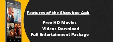 showbox free apk showbox offers offline mode usage while on the app