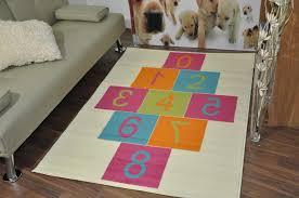 hopscotch rug for u2014 room area rugs hopscotch rug u0026 bean bag set