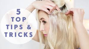 hair pieces for crown area 5 must know hair extensions tricks youtube