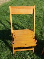 Vintage Wooden Chair Antique Chairs 1900 1950 Ebay