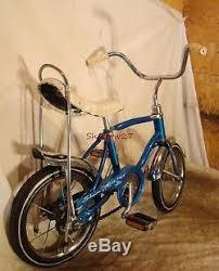 vintage schwinn lil tiger mini schwinn stingray muscle bike blue