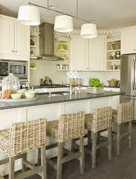 Kitchen Islands Stools by Kitchen Island Stools Gorgeous White Cabinet Decors Storage Chrome