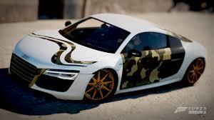 audi r8 13 audi r8 13 minimalistic camouflage paint booth