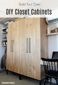 is it cheaper to build your own cabinets diy closet cabinet with adjustable shelves shoe rack and