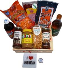 gift baskets food buy made in michigan michigan made products and gift baskets