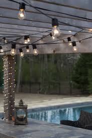 Lighting For Patios Get Your String Lights In Shape With Popular Patio Light Hanging