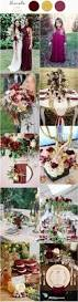 30 elegant fall burgundy gold wedding ideas deer pearl flowers