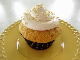 sesame cupcakes mission food honey sesame cupcakes