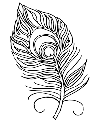 printable feathers coloring page for adults pdf jpg instant at