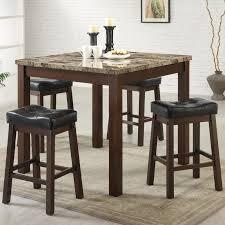 small kitchen pub table sets fundamentals kitchen pub table sets best style bar stool natural