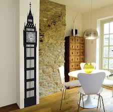 big ben wall clock decal