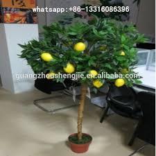 sjgs 15 artificial lemon tree evergreen artificial fruit trees