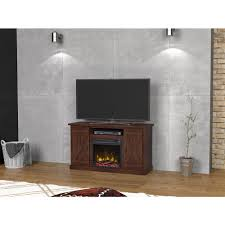 real flame fresno 72 in media console electric fireplace in black