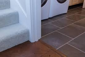 Dark Gray Laminate Flooring Stairs Carpet Light Beige Tan Cream Laundry Tile Dark Gray Slate