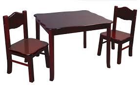Kids Wood Table And Chair Set Viv Rae Matilda Kids 3 Piece Table And Chairs Set U0026 Reviews