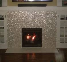 decor u0026 tips fireplace with mother of pearl tile and abalone