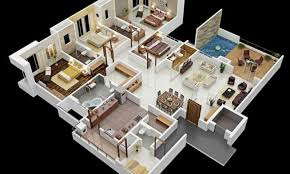 4 br house plans 4 bedroom bungalow house plans in nigeria verge hub
