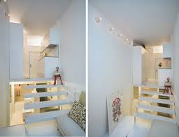 split level bedroom 100 cubic meters split level micro condo in madrid urbanist