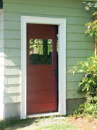 decorating delightful black house entrance door with silver handle