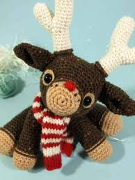 Knitted Reindeer Christmas Decorations by Crochet Christmas Ornaments Free Patterns The Whoot
