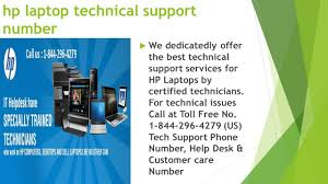 Hp Laptop Help Desk Hp Laptop Technical Support Number Ppt