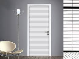 adesivi porta adesivo per porte righe orizzontali bianco e nero