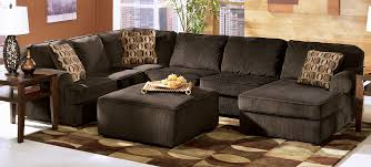 Oversized Living Room Furniture Vista Chocolate Large Sectional By Furniture Tenpenny