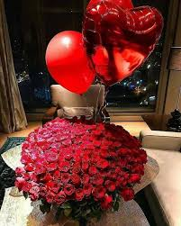 bae flowers and balloon at gorgeous me tag your bae
