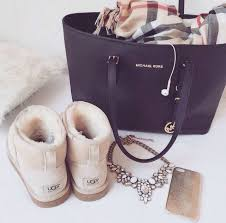 ugg boots bags accessories on sale up to 70 at tradesy michael kors tote ugg boots burberry scarf fashionista