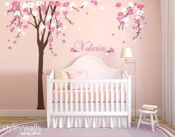 Tree Nursery Wall Decal Cherry Blossom Tree Wall Decal Nursery Wall Decal Baby Room Decor